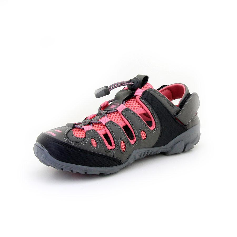 Dockers 216504 K.Gri/Pembe Kadın Sandalet