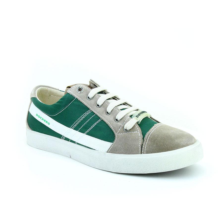 Dockers 220360 Yeşil/Taupe Erkek Ayakkabı - Thumbnail