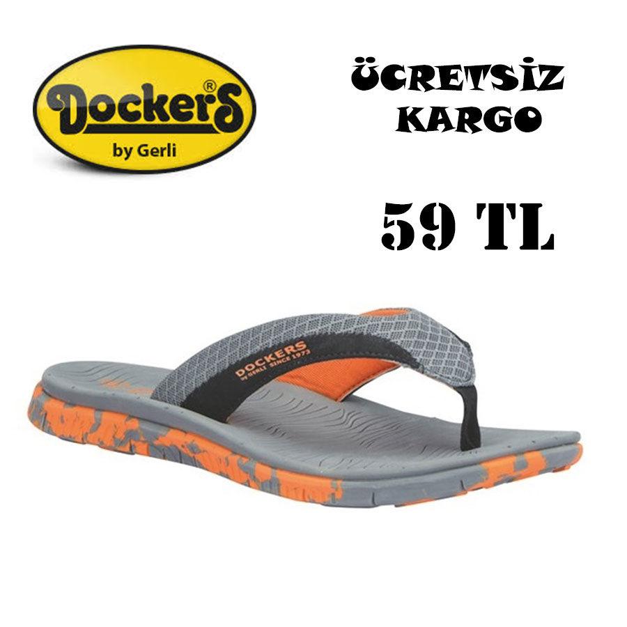 Dockers 220627 K.Gri Erkek Terlik