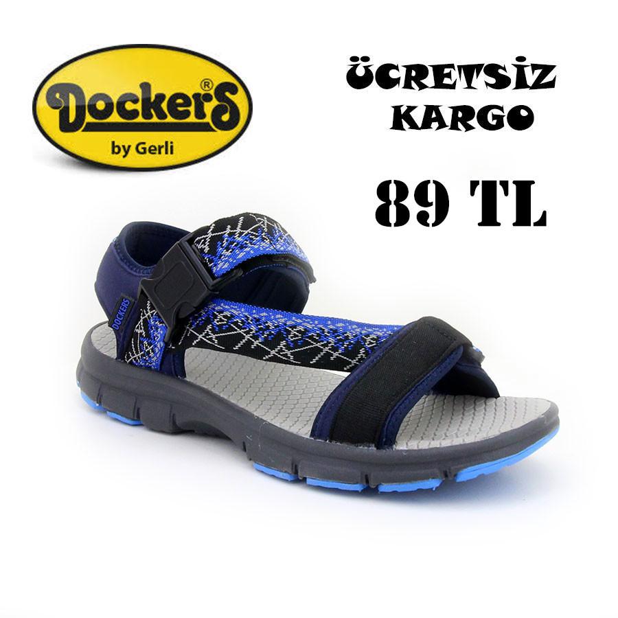 Dockers 222750 Lacivert Erkek Sandalet - Thumbnail