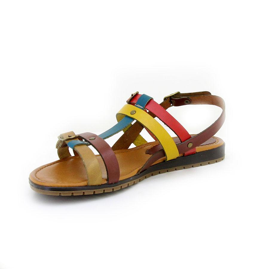 İloz 441705 Sarı Kadın Sandalet
