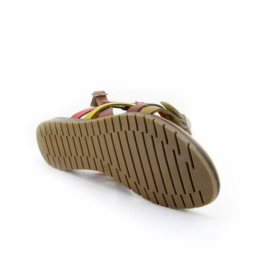İloz 441705 Sarı Kadın Sandalet - Thumbnail