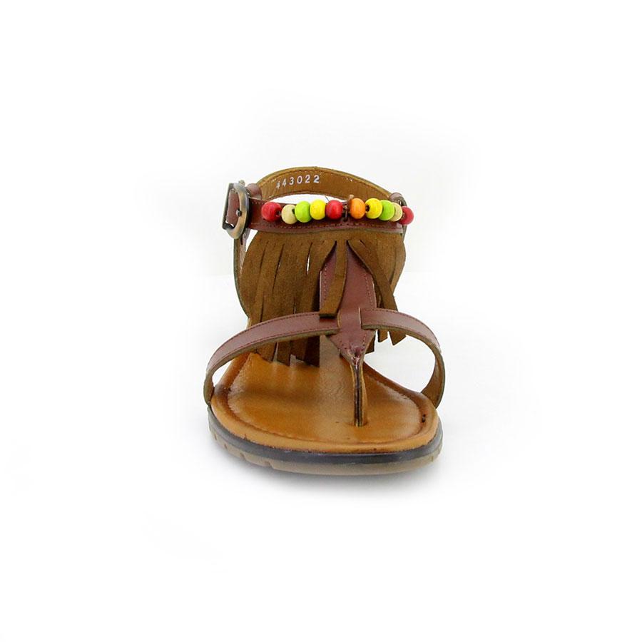 İloz 443022 Kahverengi Kadın Sandalet - Thumbnail