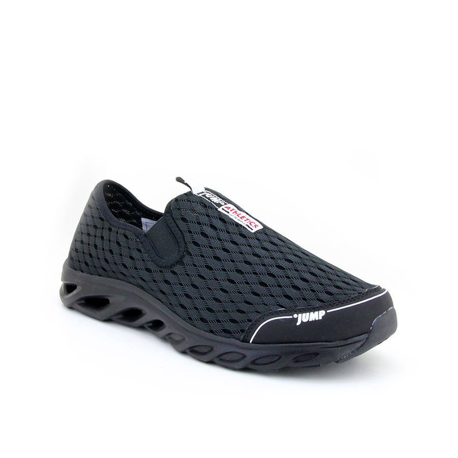 Jump 15010 F-Black-White Erkek Spor Ayakkabı - Thumbnail