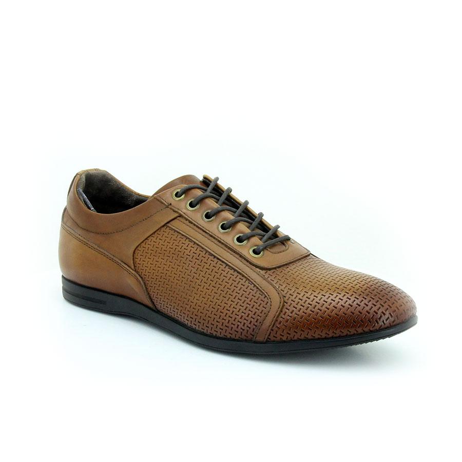 Komcero 2292-338 Taba Antik Deri Erkek Ayakkabı