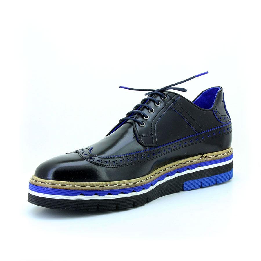 Komcero 2439-800 Siyah Acma Erkek Ayakkabı