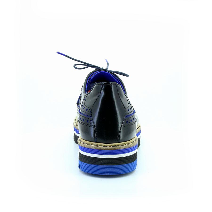 Komcero 2439-800 Siyah Acma Erkek Ayakkabı - Thumbnail