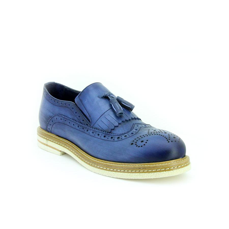 Komcero 3165-7278 Lacivert Deri Erkek Ayakkabı