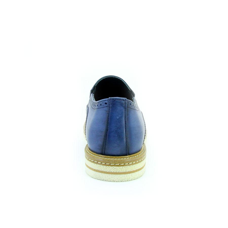 Komcero 3165-7278 Lacivert Deri Erkek Ayakkabı - Thumbnail