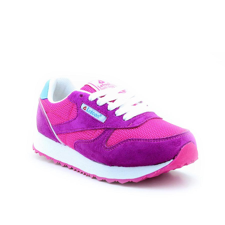 Letoon 2313 Fuşya çocuk Spor Ayakkabı Ayakkabı Letoon