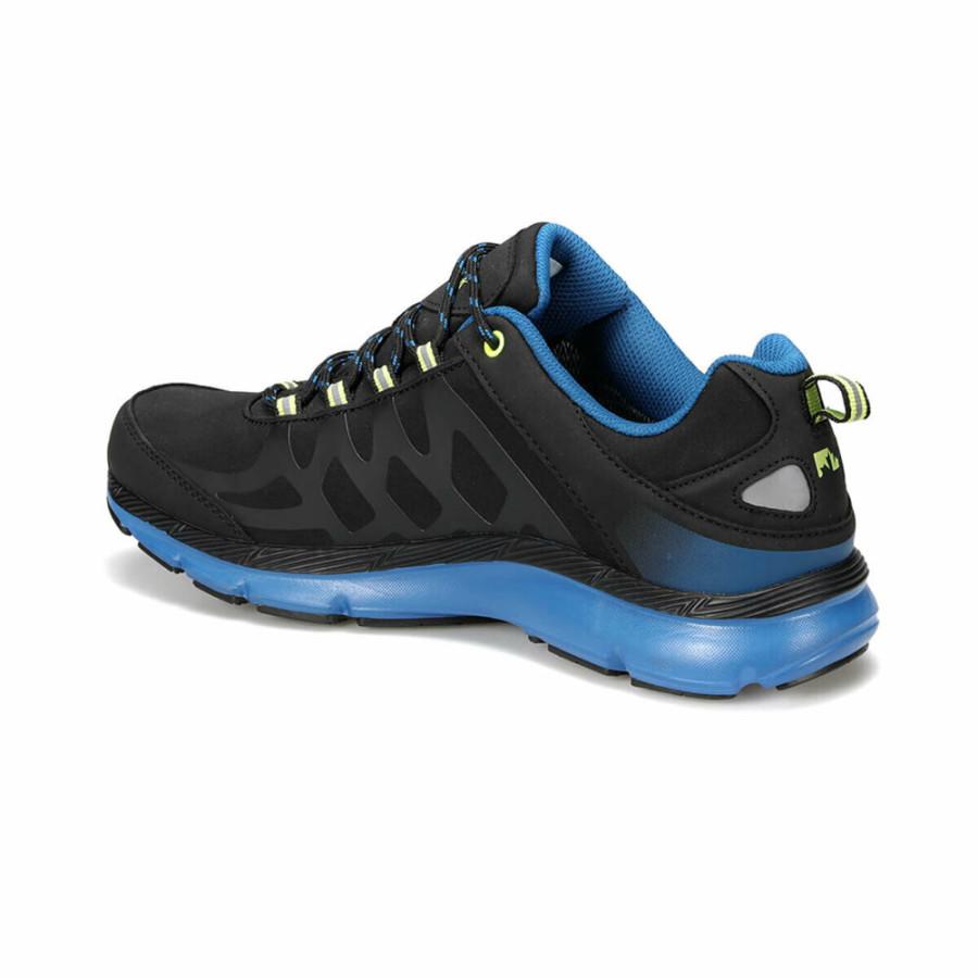 Lumberjack 100420726 Ursa Siyah/Mavi Erkek Spor Ayakkabı - Thumbnail