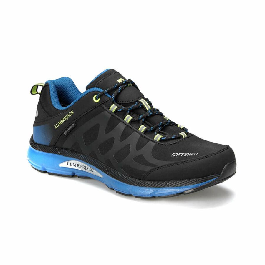 Lumberjack 100420726 Ursa Siyah/Mavi Erkek Spor Ayakkabı