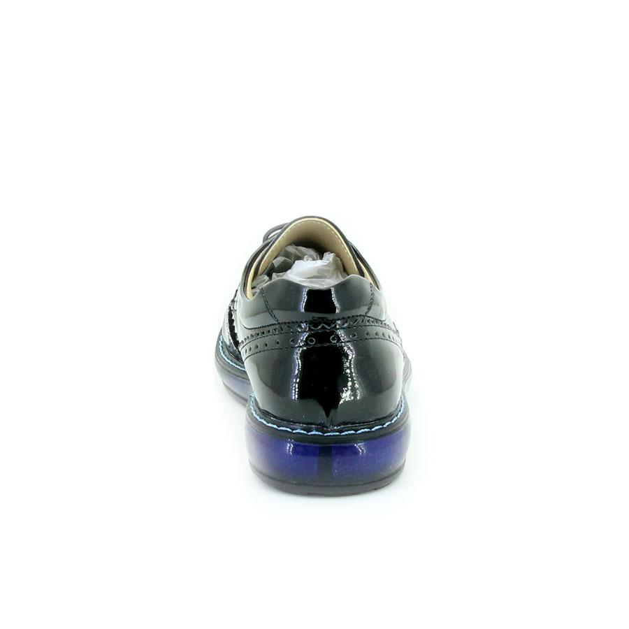 Mini Can 117 Siyah Rugan Filet Çocuk Ayakkabı - Thumbnail