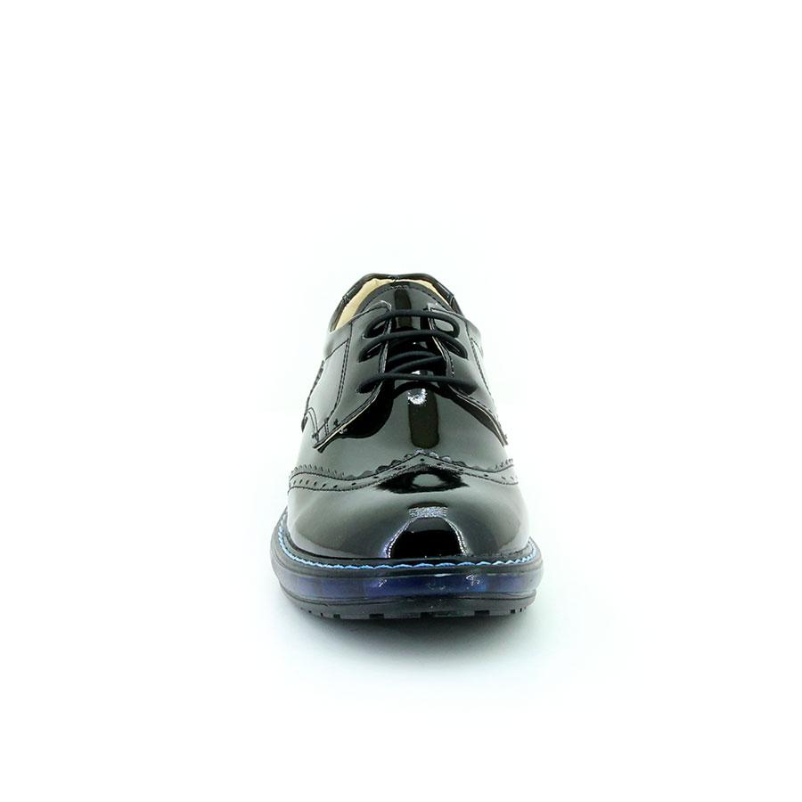 Mini Can 117 Siyah Rugan Filet Çocuk Ayakkabı