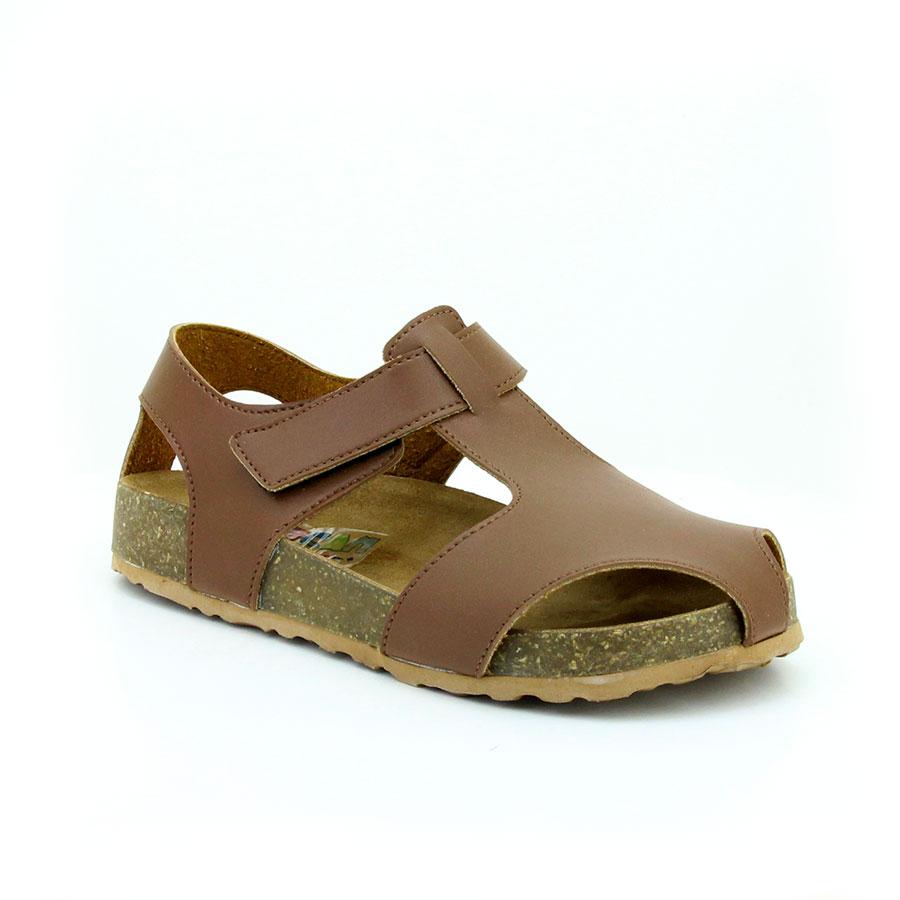 Mini Can 256 Kahverengi Filet Çocuk Sandalet