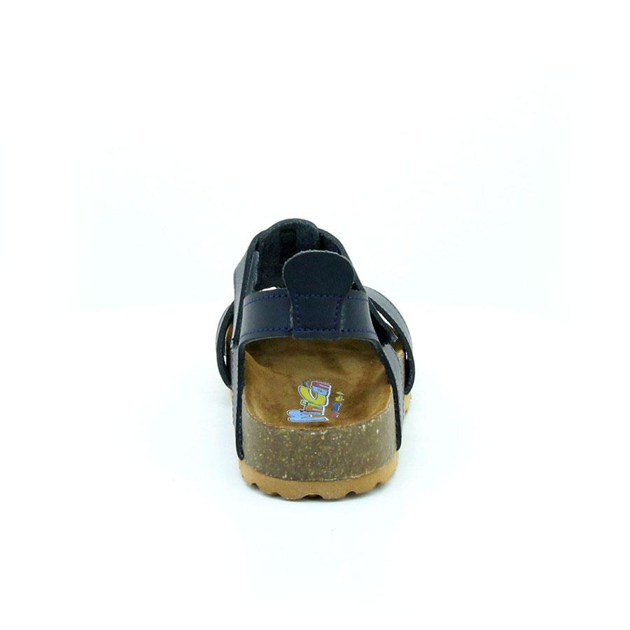 Mini Can 256 Lacivert Filet Çocuk Sandalet - Thumbnail
