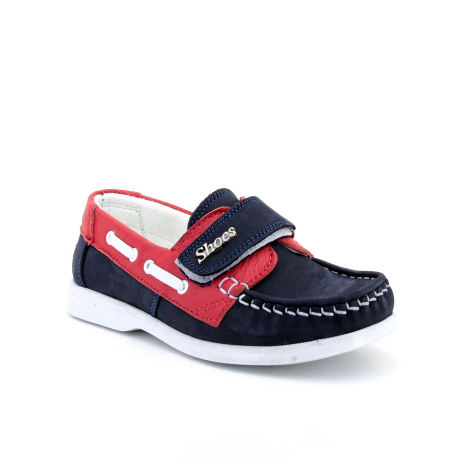 Mini Can 802 Lacivert/Kırmızı Patik Ayakkabı