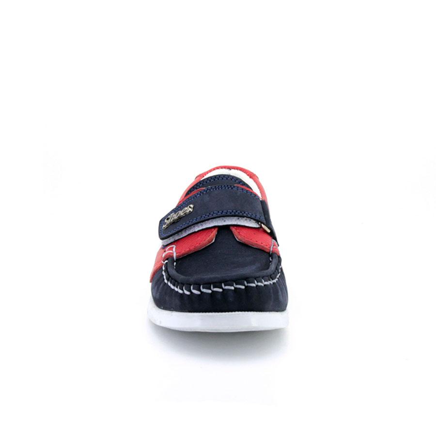 Mini Can 802 Lacivert/Kırmızı Patik Ayakkabı - Thumbnail