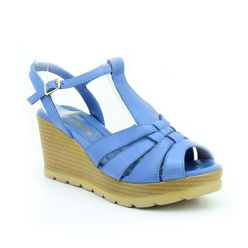 Venüs 0793018 A.Mavi Kadın Sandalet - Thumbnail