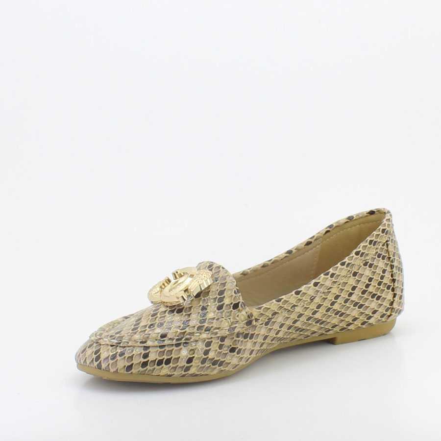 Yees 10001 Bej Kadın Babet Ayakkabı
