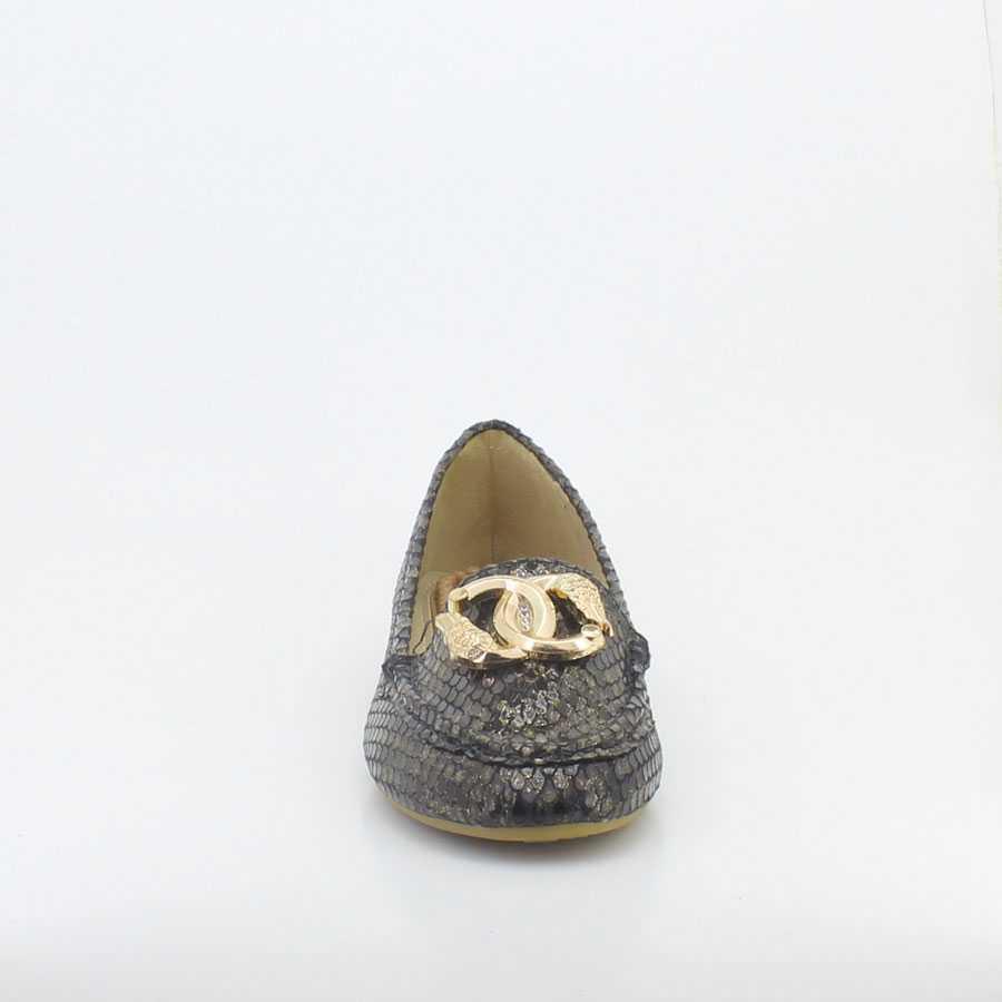 Yees 10001 Siyah Kadın Babet Ayakkabı